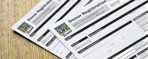 One form is all it takes to become an organ donor