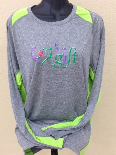 TUG Long Sleeve Neon Green Front